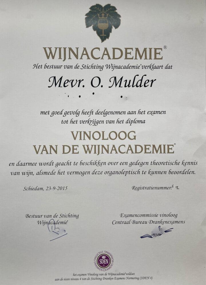 Op zoek naar een Vinoloog in Amsterdam? Huur Ol in One in!